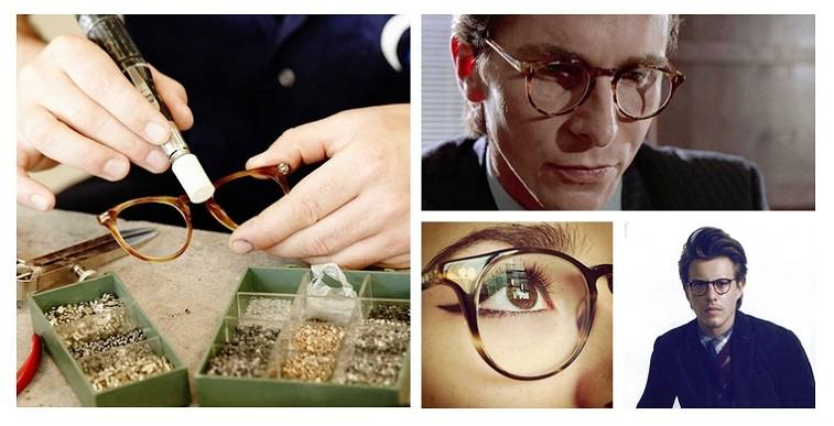 Oliver Peoples Collage