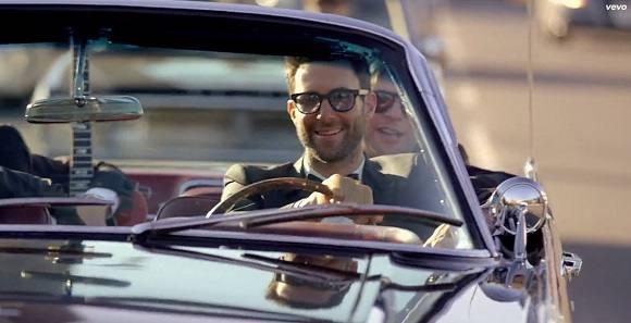 Adam Levine Maroon 5 Sugar Video