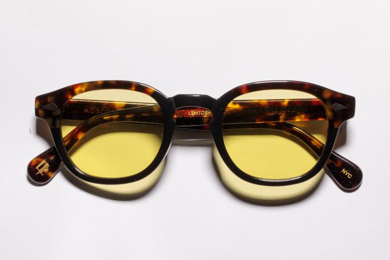 moscot-50-year-luziottica-le-lemtosh-tortoise-black-giallo-2