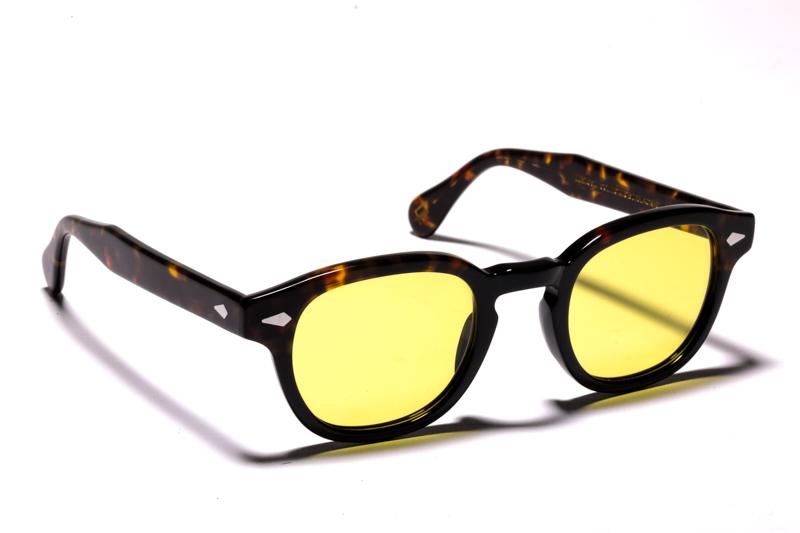 moscot-50-year-luziottica-le-lemtosh-tortoise-black-giallo