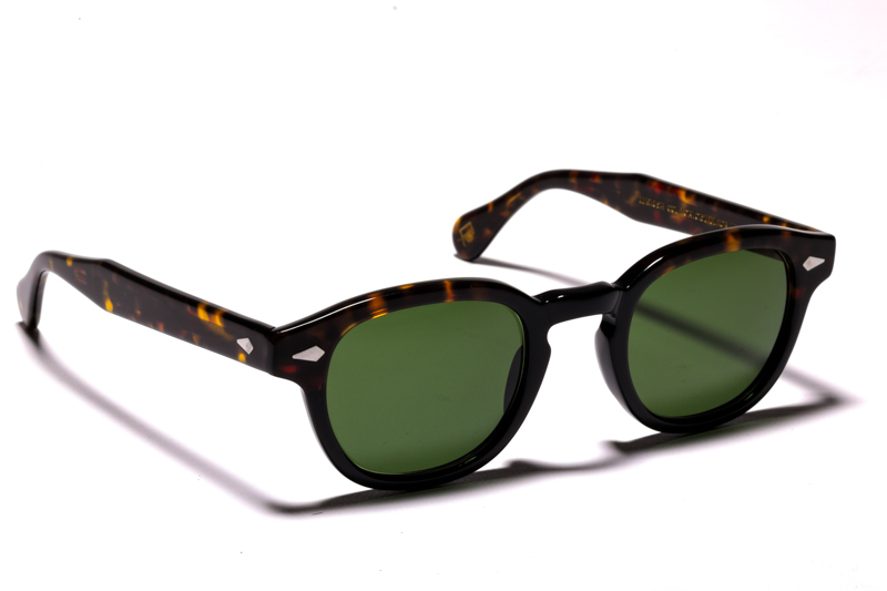 moscot-50-year-luziottica-le-lemtosh-tortoise-black-green