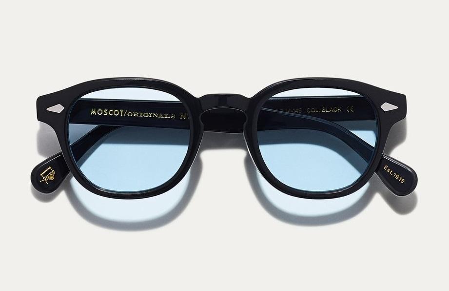 Acquista Occhiali Moscot Lemtosh Custom Tints Black Azzurro Chiaro A Prezzi Ufficiali Luziottica Vision