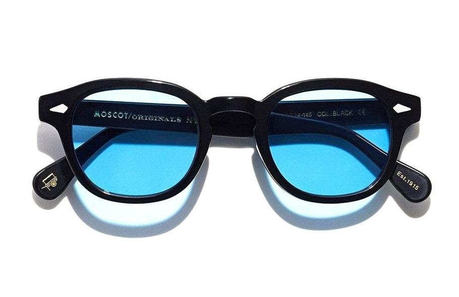 Acquista Occhiali Moscot Lemtosh Custom Tints Black Azzurro A Prezzi Ufficiali Luziottica Vision